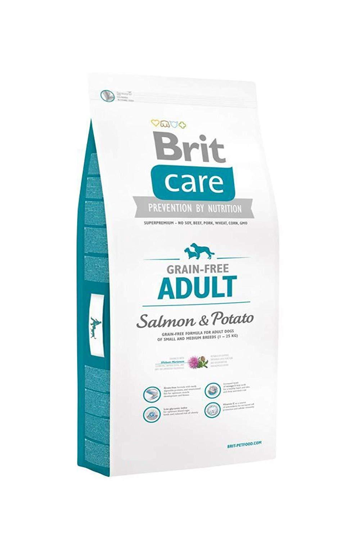 Pienso Brit Care Salmon para perros adultos sin grano