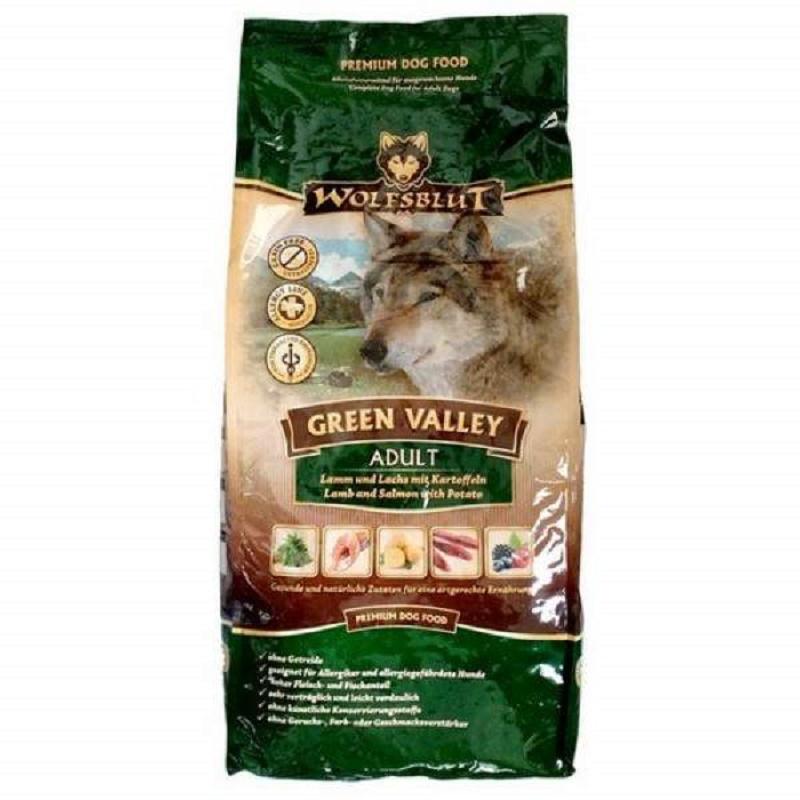 Ventajas del pienso para perros wolfsblut green valley