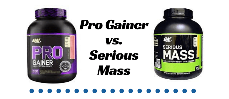 Pro Gainer vs. Serious Mass (What Is The Best Weight Gainer?)