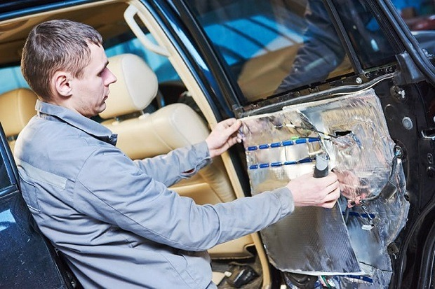 car-sound-deadener-installation