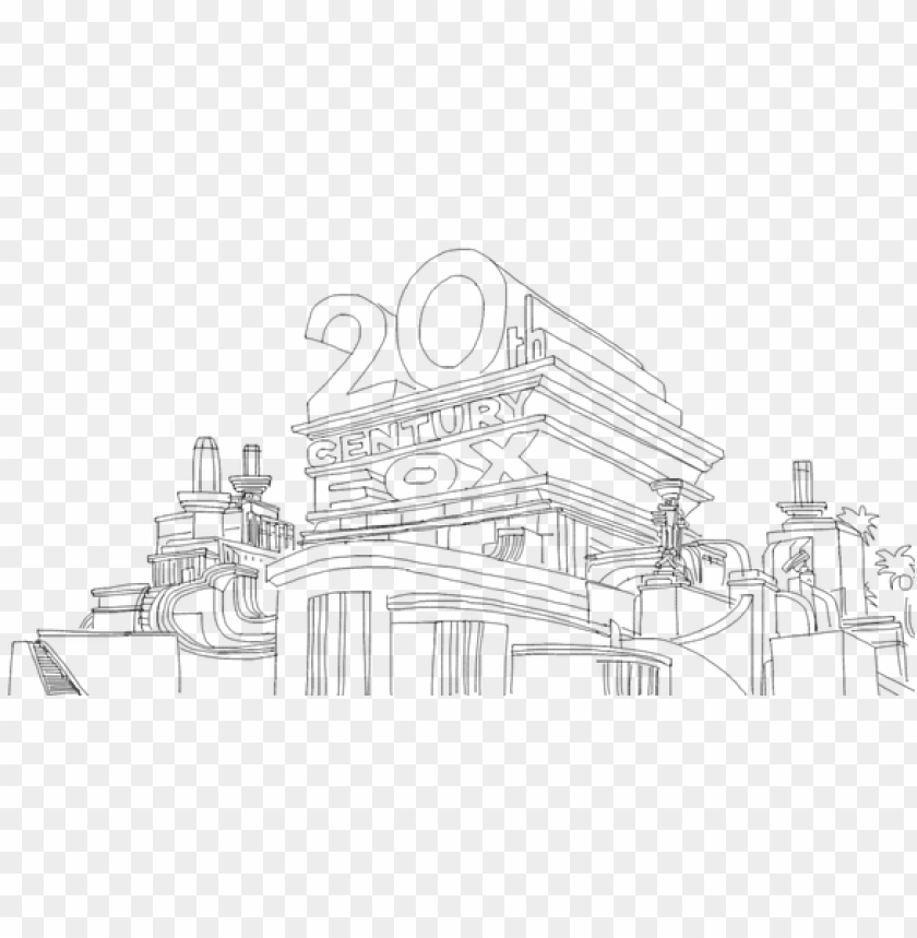 20th Century Fox Coloring Pages 20th Century Fox Png Image With Transparent Background Toppng