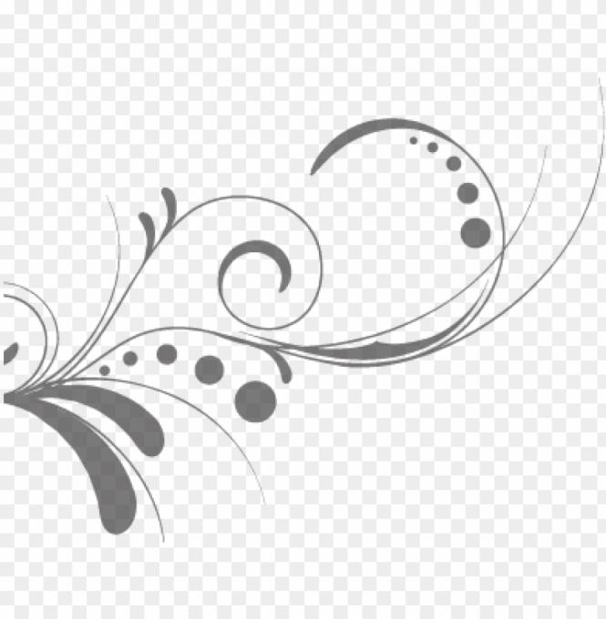 Free Wedding Invitation Swirls Clipart
