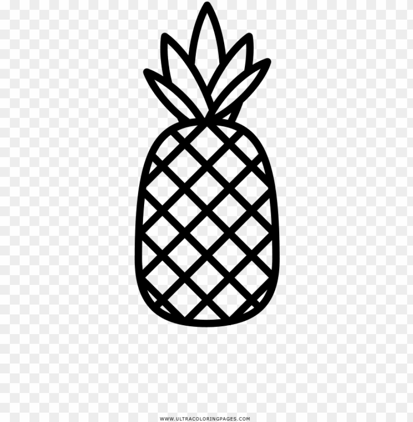 Ineapple Coloring Page Ultra Coloring Pages Pineapple Pineapple Coloring Page Png Image With Transparent Background Toppng
