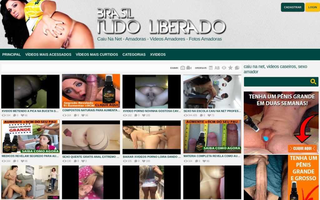 Brasiltudoliberado - top Latina Porn Sites