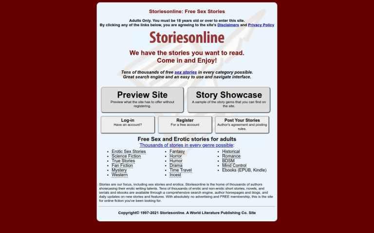 Storiesonline - top Sex Stories Sites