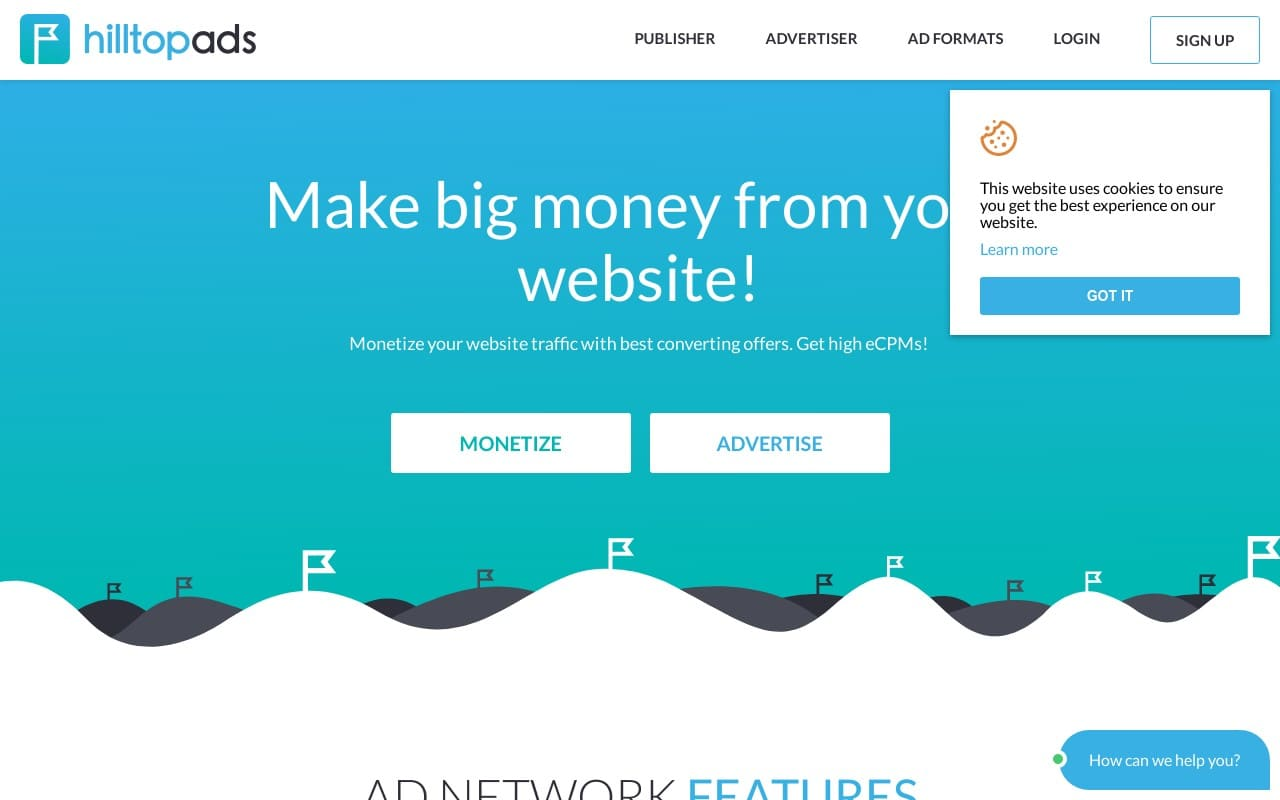 Hilltopads - top Adult AD Networks