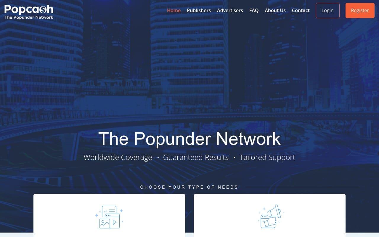 Popcash - top Adult AD Networks