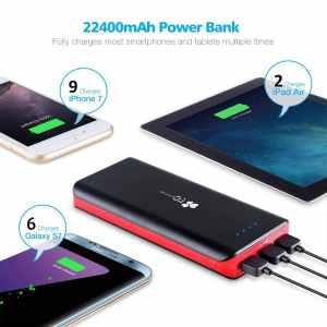EC Technology 22400mAh – best portable power bank for iPhone 7 Plus ac53a4c36c50