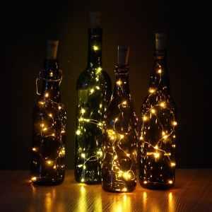 jojoo warm white wine bottle cork lights best wine bottle light in 2016