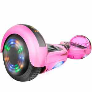 AOB SMART GO Z1Plus Chrome Self-Balancing Hoverboard wBluetooth Speaker, UL2272 Certified