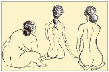 Trzy siostry-bulimia, anoreksja, objadanie się nadmierne