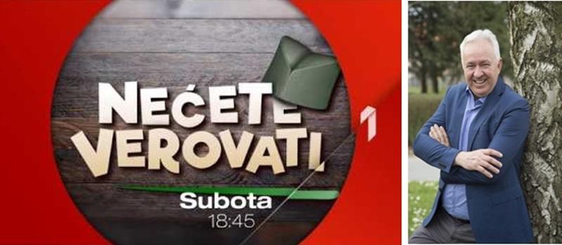 """Трећа сезона емисије """"Нећете веровати"""" од 2. марта на Првој (ВИДЕО)"""