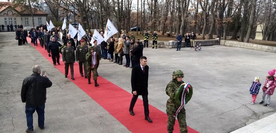 Министар Зоран Ђорђевић положио венце на Опленцу