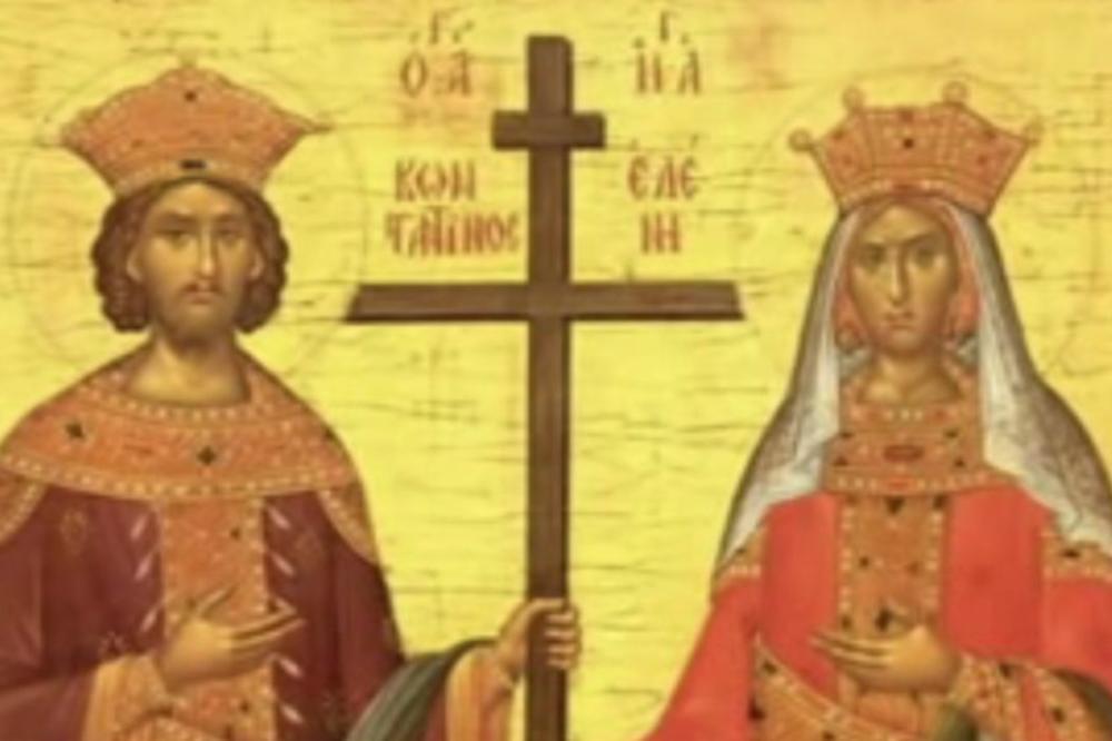 Данас су цар Константин и царица Јелена: Ево шта би ваљало да урадите