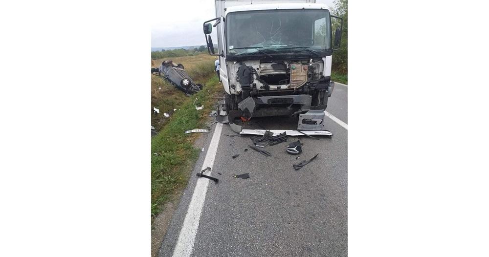 Тешка саобраћајна несрећа у Наталинцима, једно лице изгубило живот