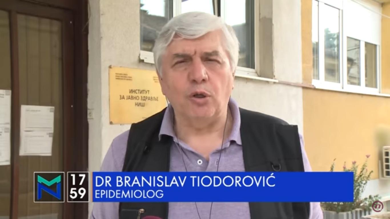 Тиодоровић: Трећи талас је већ у току, применити мере
