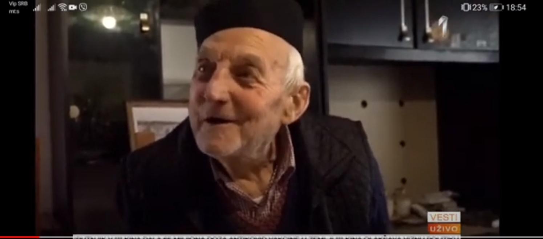 Деда Војимир примио вакцину у 102 години, добро се осећа и саветује друге да се вакцинишу (ВИДЕО)