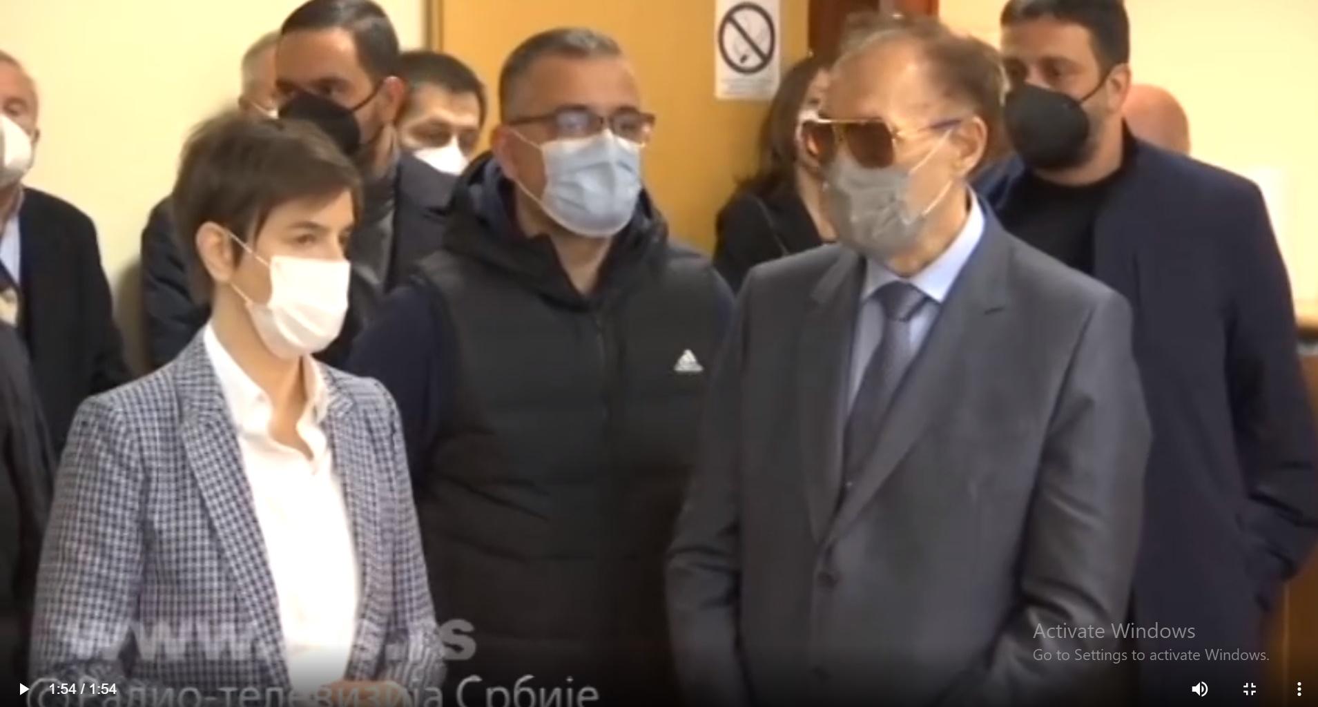 Брнабић и Недимовић посетили најсавременији противградни систем на Букуљи
