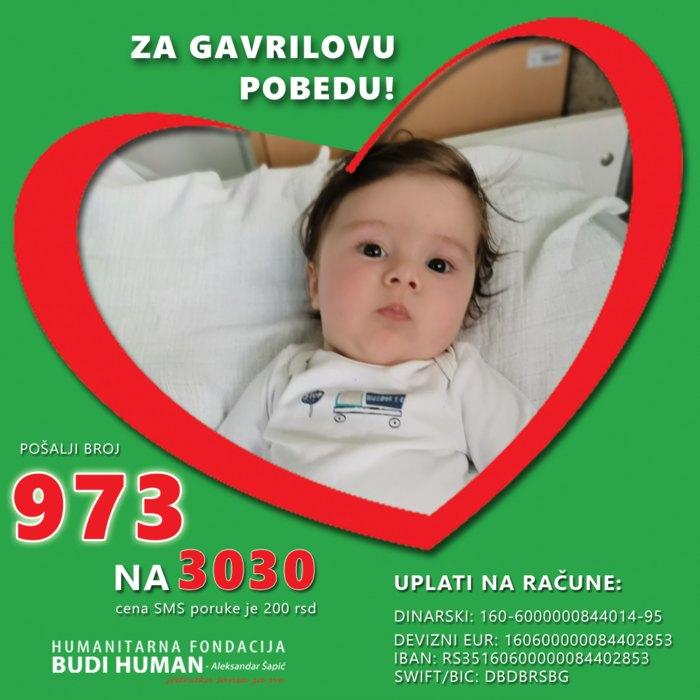Мали Гаврило почео лечење у Мађарској