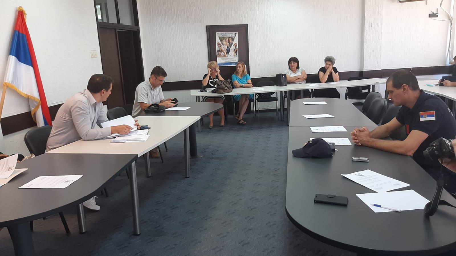 Заседао Штаб за ванредне ситуације у општини Топола, ситуација са водоснабдевањем и даље неповољна