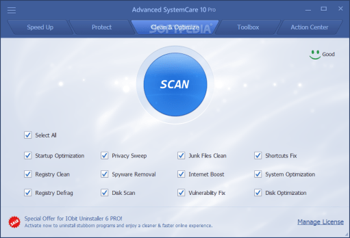 Advanced SystemCare Pro 12.2.0.130 Crack Incl License Key Full Free