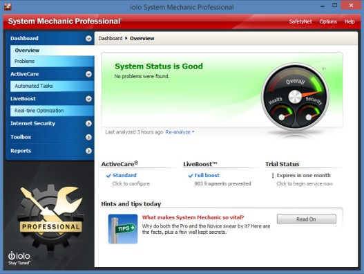System Mechanic Pro 19.0.1 Crack & Activation Key Latest