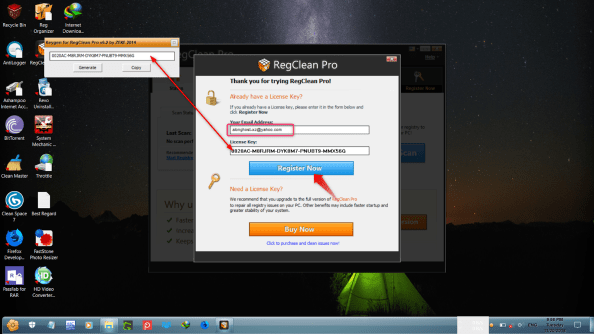 RegClean Pro 8.3.81.1134 Registration Key Incl Crack Free