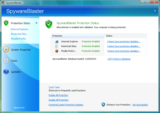 SpywareBlaster 5.5 Crack Keygen and Serial Key Full Free Download