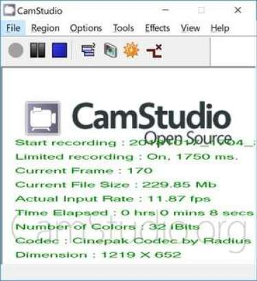 CamStudio 2.7.4 Crack With License Key Full Download