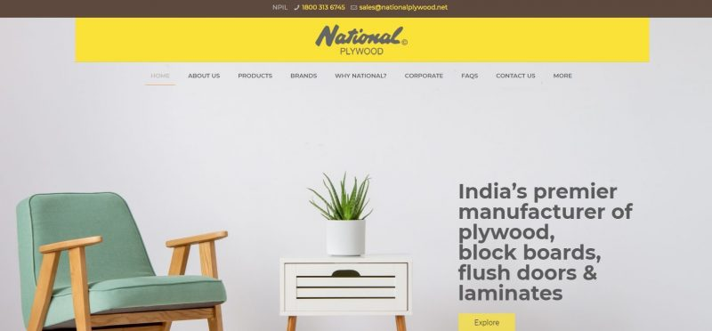National Plywood Industries Ltd: Plywood Brand