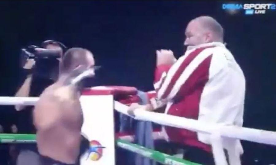 Πυγμάχος πλάκωσε στις μπουνιές τον προπονητή του! (video)