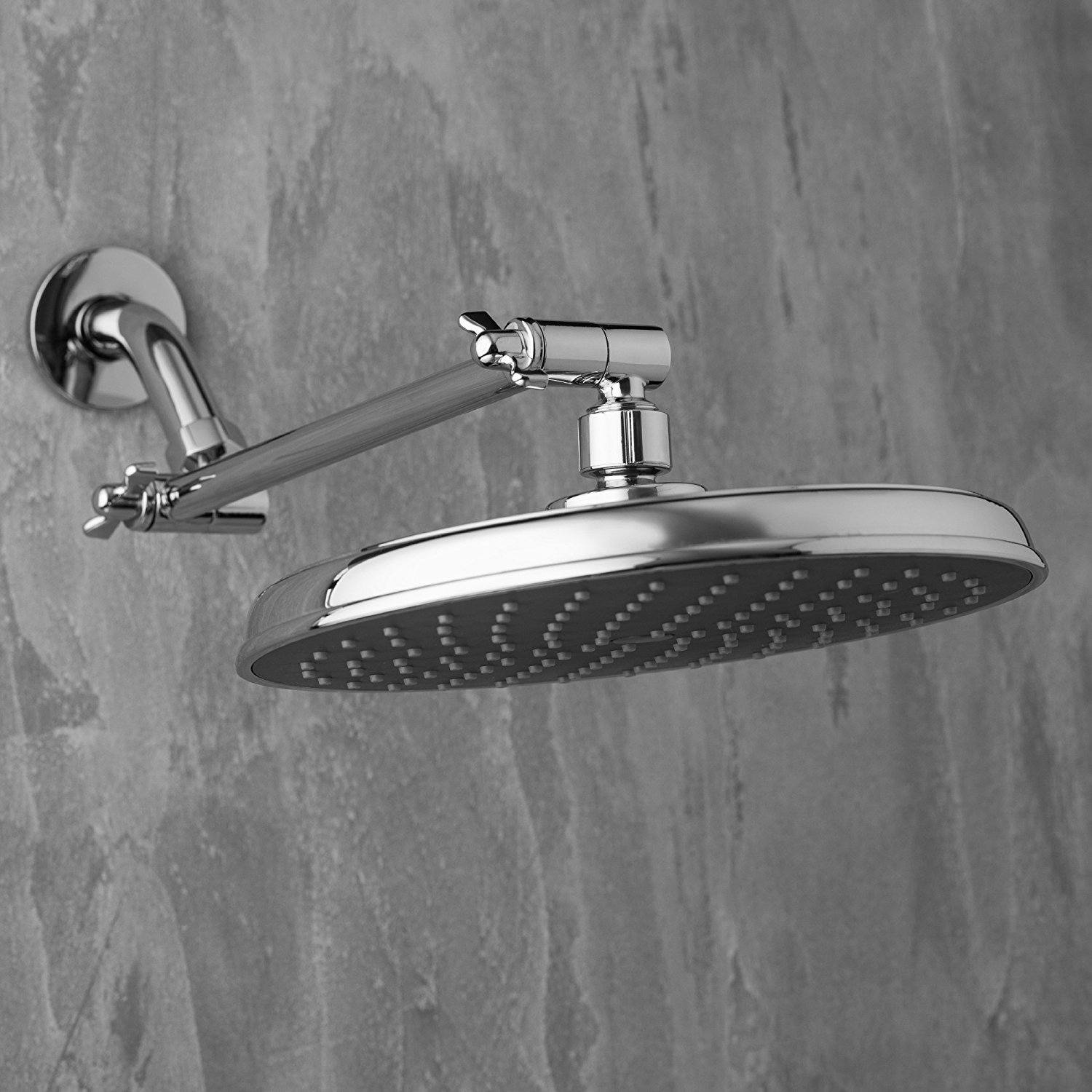 Best Shower Head Extension Arms New Tra Reviews 2019