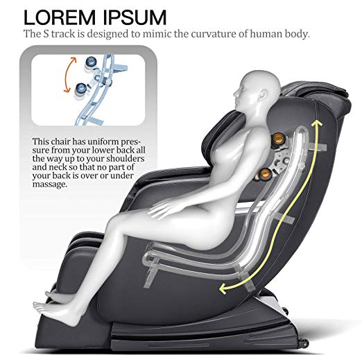 Recliner Zero Gravity Rrelax Massage chair info