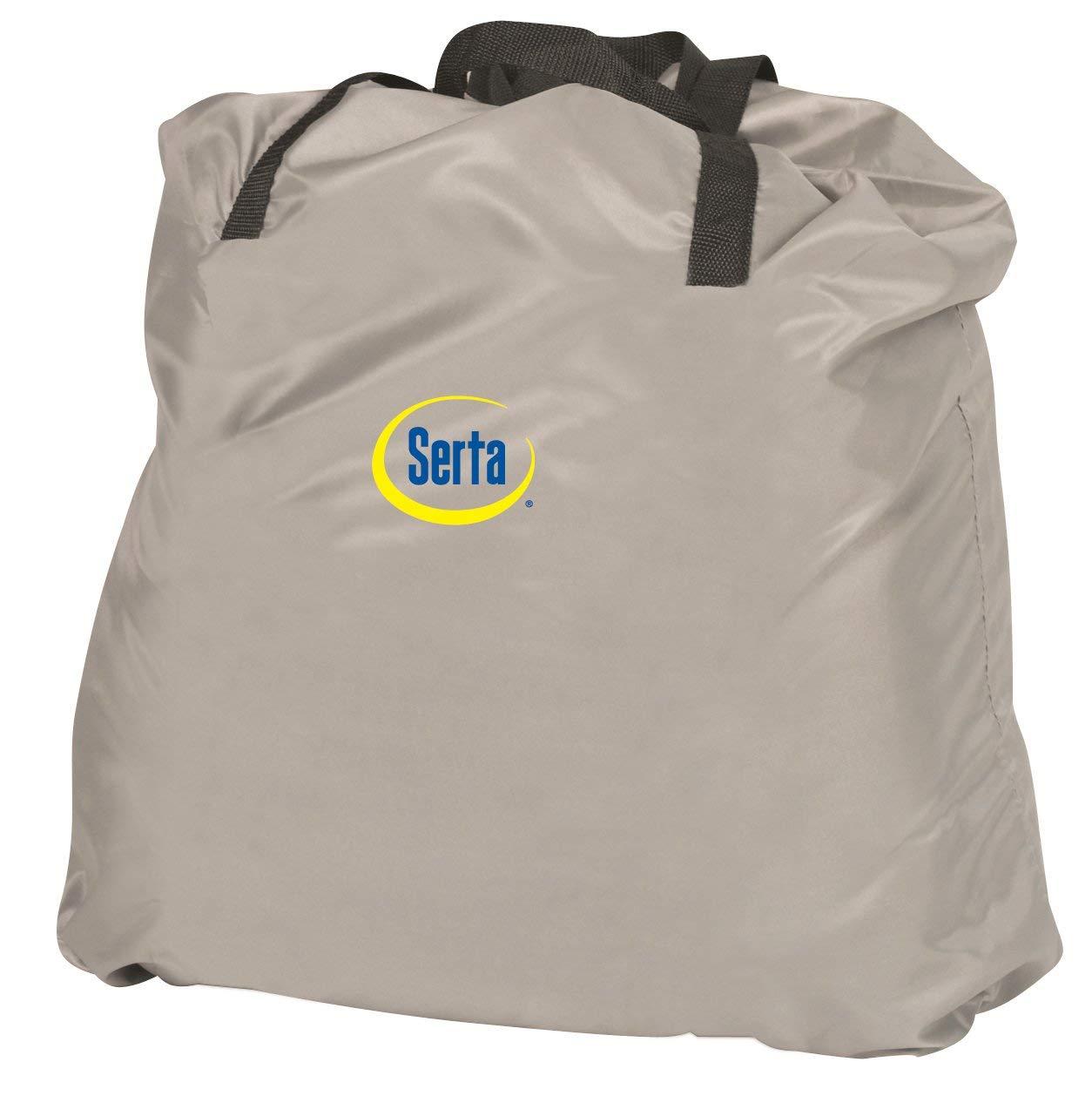 Serta Raised Air Mattress