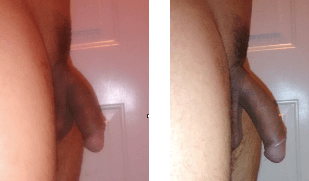 cock pump before and after