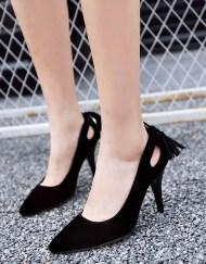 black petite pumps