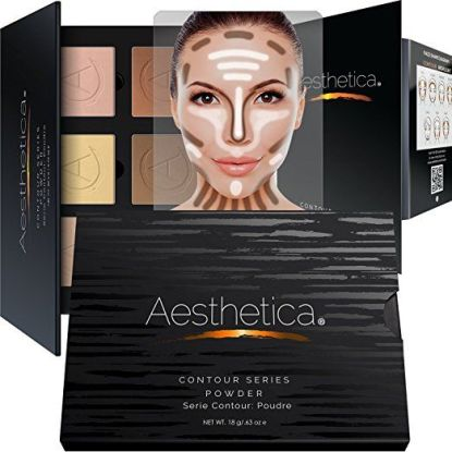 Aesthetica Cosmetics Contour and Highlighting Powder Foundation Palette
