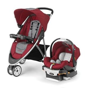 chicco viaro travel system with keyfit 30 infant car seat cranberry