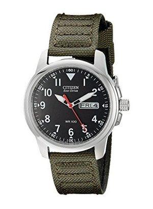citizen men's bm8180-03e eco-drive analog japanese quartz green watch