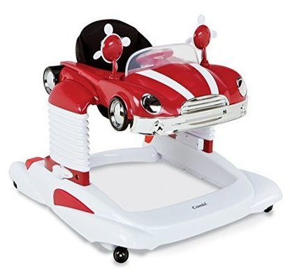 combi all in one mobile entertainer baby walker color red