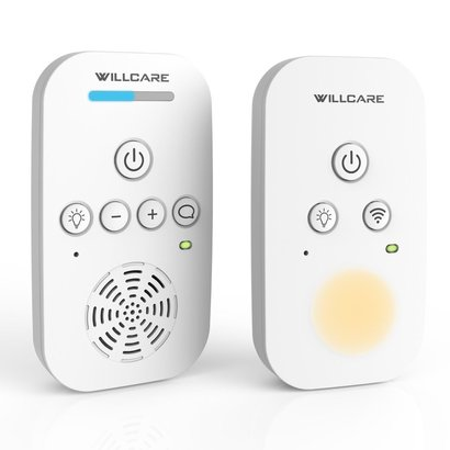 willcare baby monitor with two-way audio smooth night light dbm-6