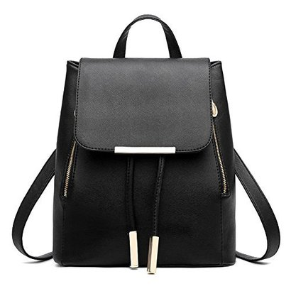 z-joyee casual purse fashion school leather backpack shoulder bag mini backpack for women and girls