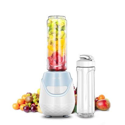 comfee 250w personal size blender with 2 x 20 oz bpa free tritan blending jars with travel lids