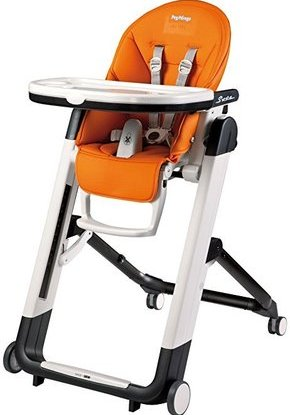 peg perego siesta reclining seat high chair with 9 height positions