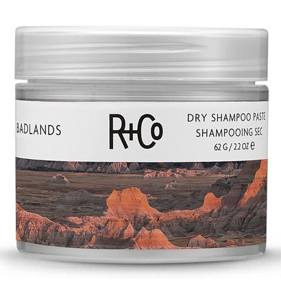 r+co badlands dry shampoo paste 2.2 oz. for texture and hair volume