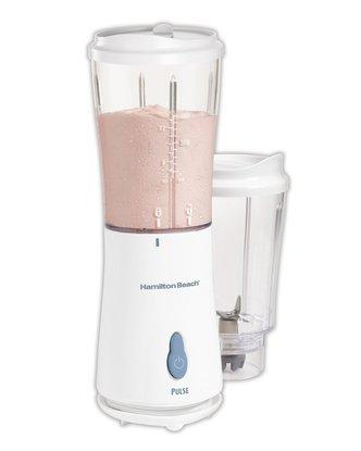 hamilton beach 51102 single-serve blender with 2 jars and 2 lids bpa free and 175-watt motor