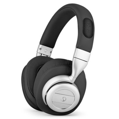 bohm b76 wireless bluetooth over ear headphones with active noise cancelling technology