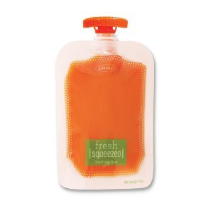 infantino fresh squeezed feeding pouches includes 50 pouches of 4 ounce