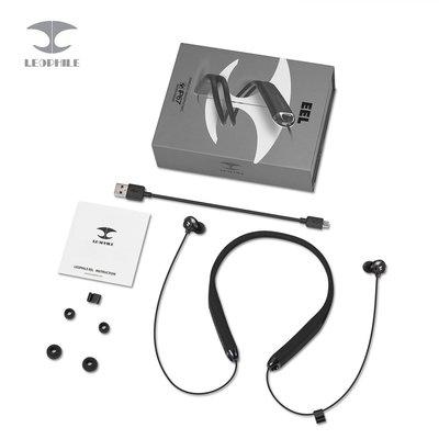 leophile eel wireless neckband sports headphones ip67 waterproof bluetooth 4.1 stereo headset
