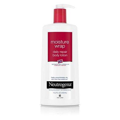 neutrogena norwegian formula moisture wrap daily repair body lotion for dry skin